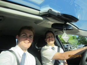 Elder Hagen and Elder Brown hit the road.
